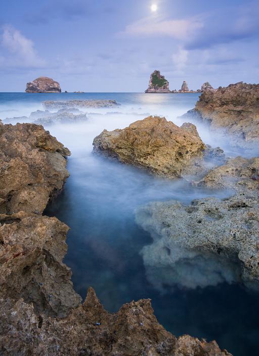 La pointe des chateaux - Guadeloupe, France