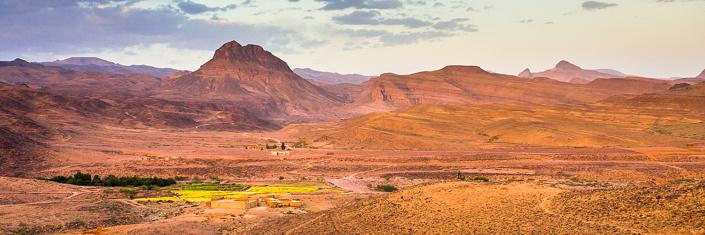 Djebel saghro. Maroc