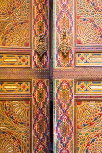 Portes de la mosquée Karaouine - Fes, Maroc