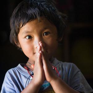 Salutation traditionnelle nepalaise - Népal