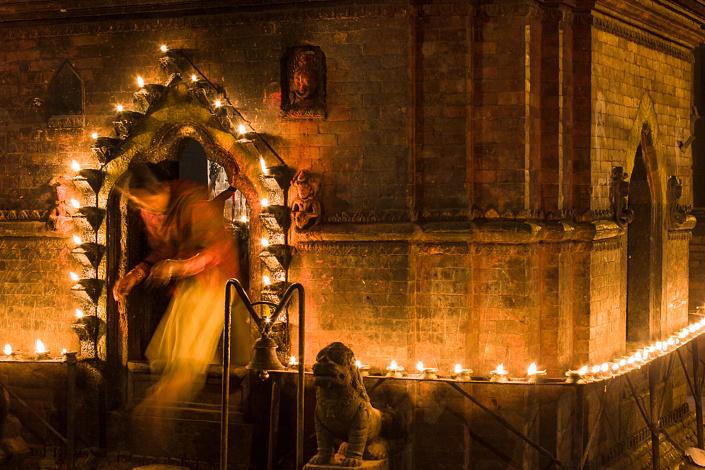 Temple Hindousite - Bhaktapur, Népal