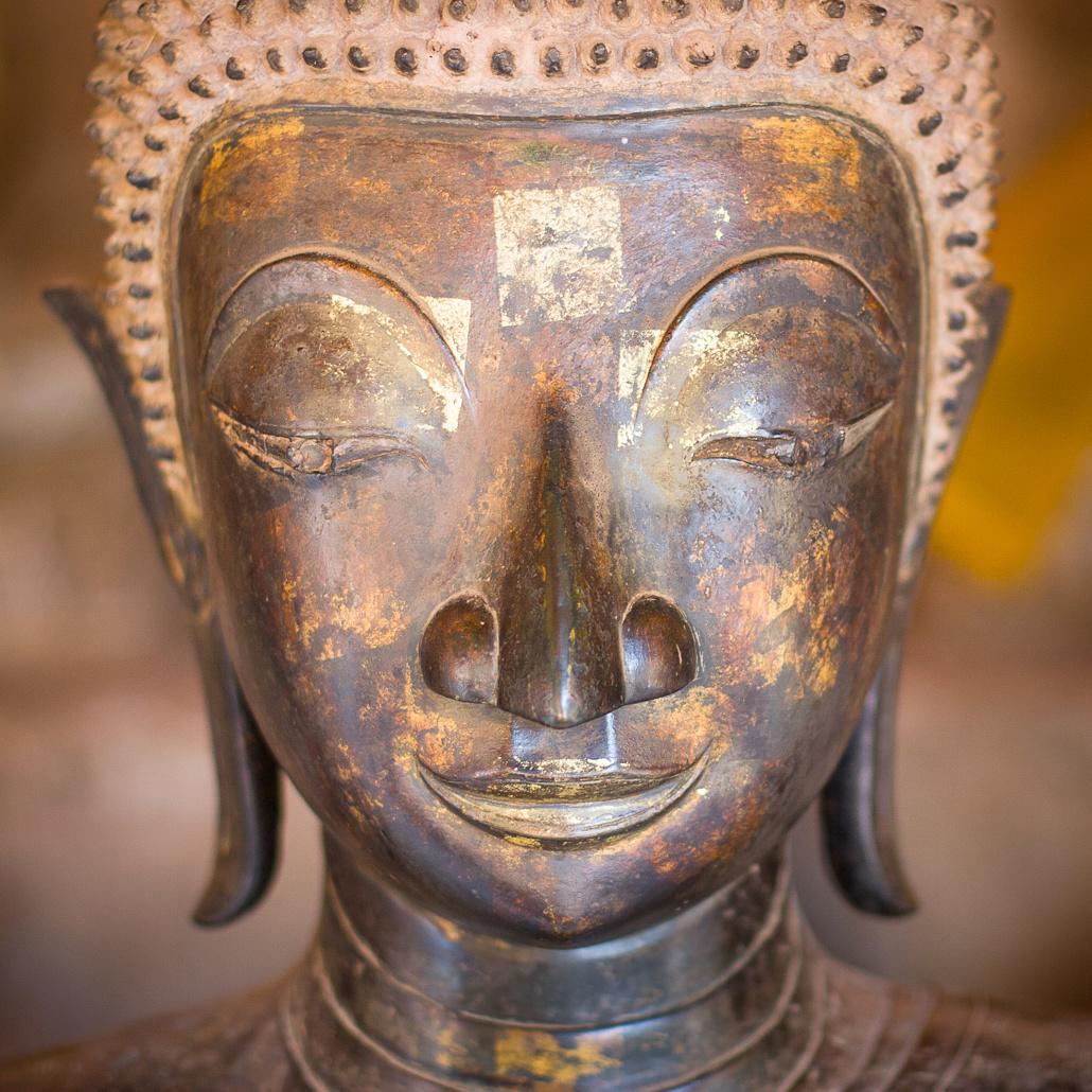Statue Bouddhiste - Vientianne, Laos