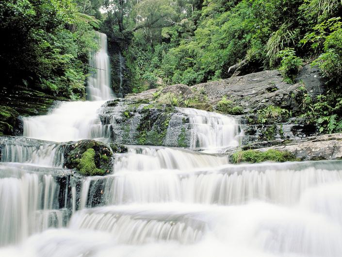 Mc Leans falls, Nouvelle-Zélande
