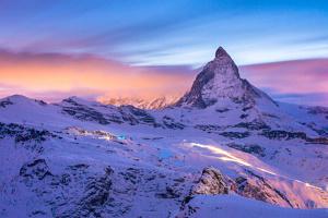 Le Cervin de nuit (Matterhorn) - Suisse