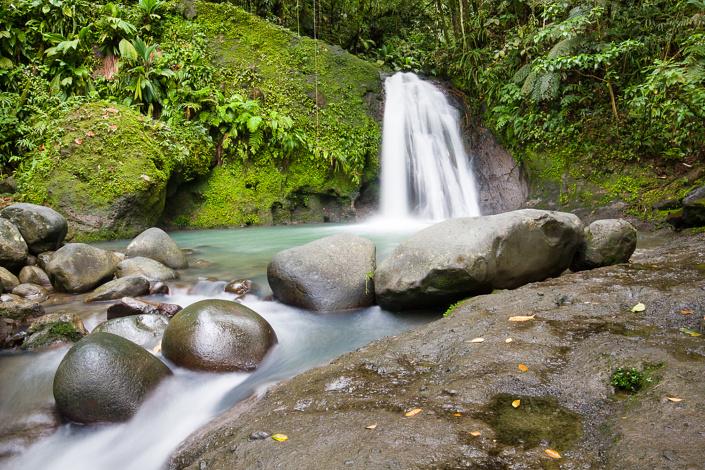 Cascade aux ecrevisses - Guadeloupe, France
