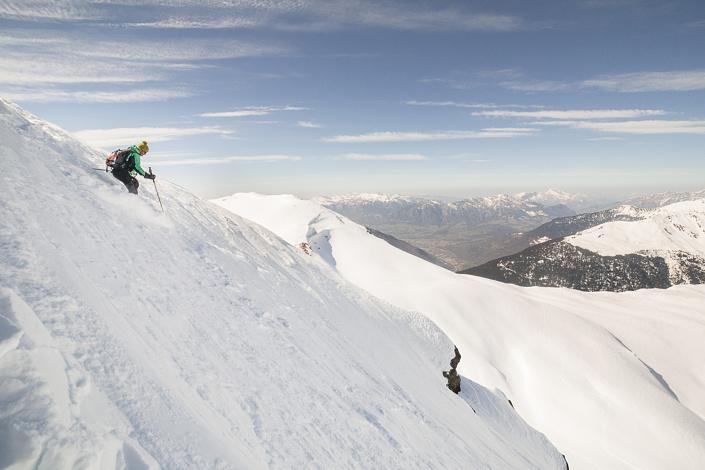 Freeride à Comborsier - Savoie, France