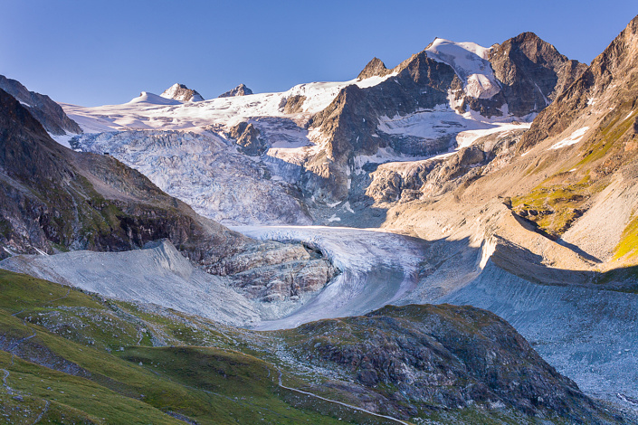Glacier de Moiry - Suisse.