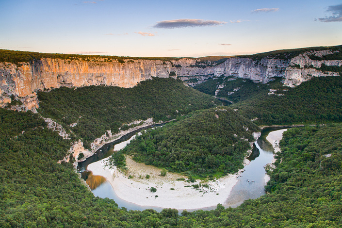 Cirque de la Madelaine, Gorges de l'Ardèche, France