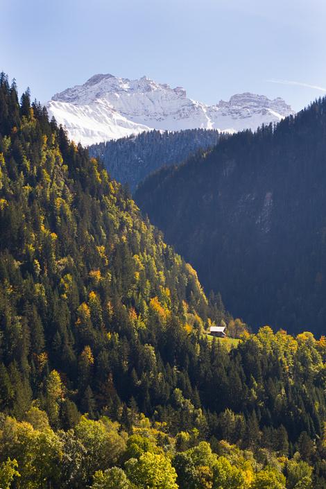 Paysage du Beaufortain - Savoie, France