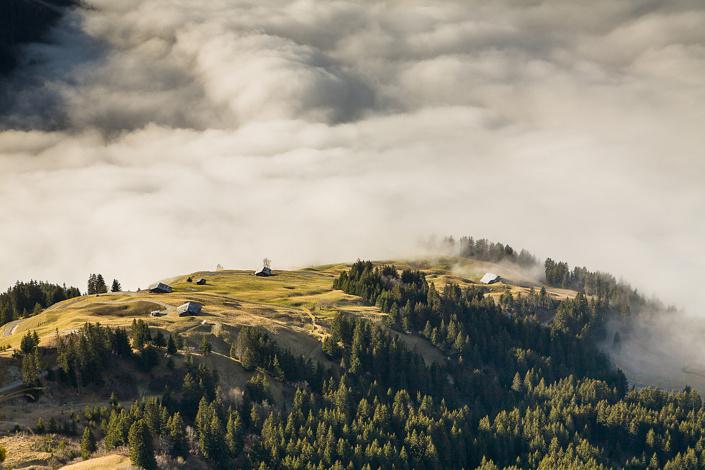 Paysage à Arêches-Beaufort, Savoie