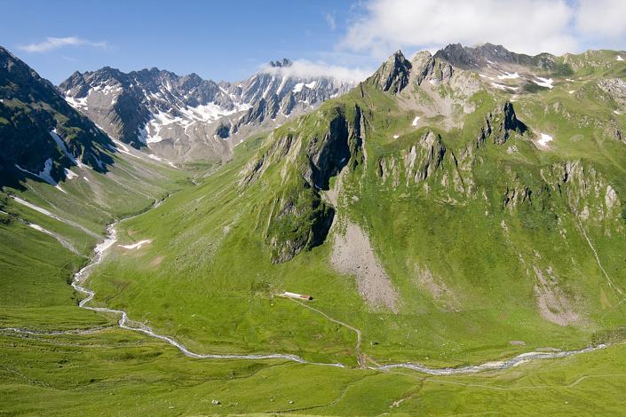 Combe du Ban Darray - Val Ferret, Suisse