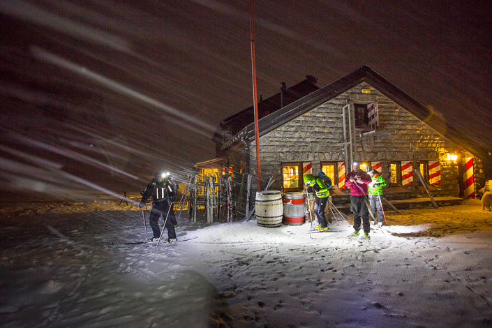 Cabane des Violettes, Crans-Montana.