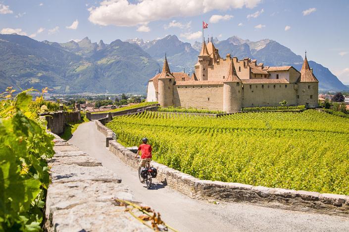 Château d'Aigle, Suisse