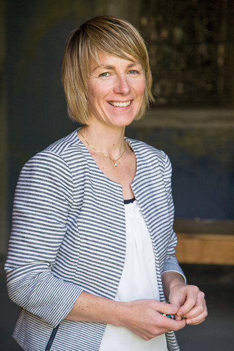 Maya Belzer-Hallenbarter, gérante du Grand Hôtel Glacier du Rhône. Suisse