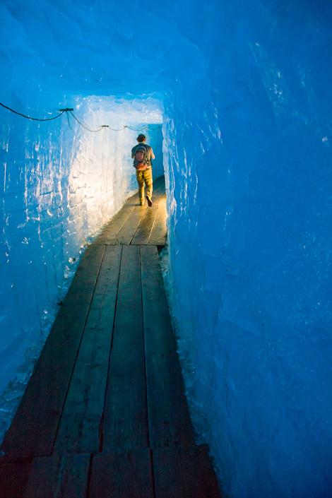 Grotte du Glacier du Rhône, Suisse
