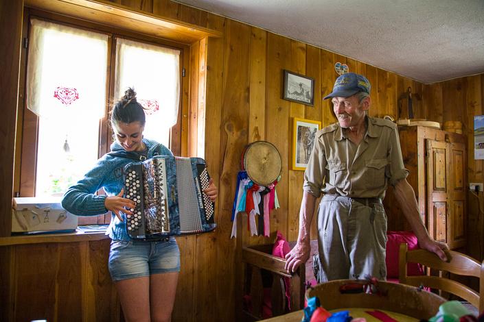Reportage Alpes Magazine. Cogne, Italie
